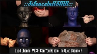 Quad Channel Mk.3 - Red Tub, Ear Control, Scalp Tingles, Plastic Bags - No Talking ASMR