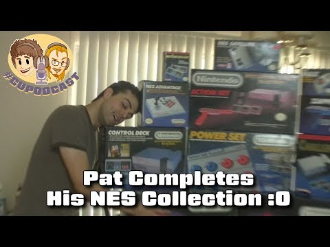 Pat Completes His NES Collection - #CUPodcast