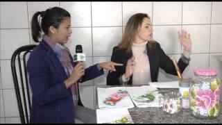 Marta Costa – O FUXICO Pintura em Vidros – Parte 01