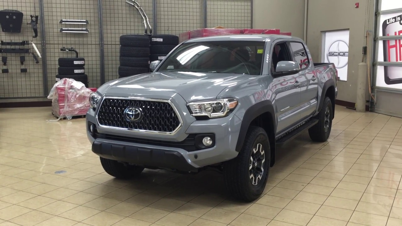 2018 Toyota Tacoma Trd Off Road Review Youtube