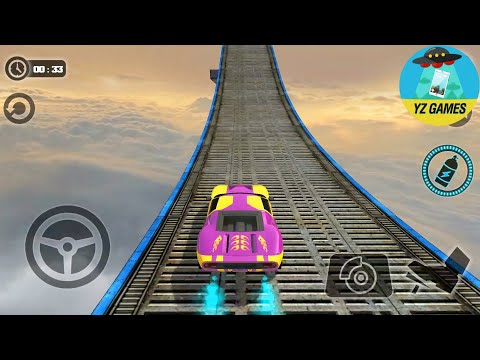Impossible Stunt Car Tracks 3D - Car Simulator 2019 - Android GamePlay [FHD]