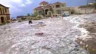El Paso, TX Flash Flood Waterfall 7/10/15