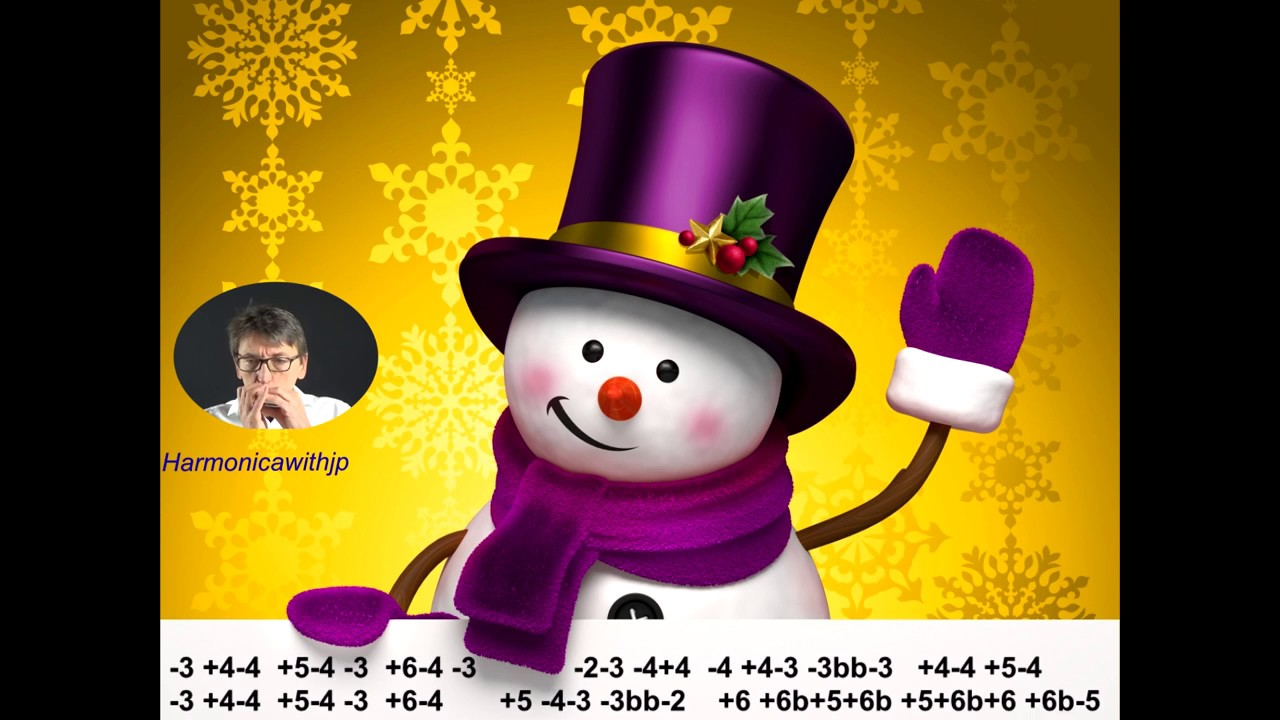Harmonica u0026 tabs u0026quot;Let it snowu0026quot; (Christmas song) - YouTube