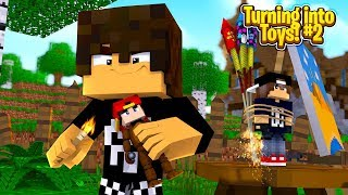 Minecraft Toys #2 - THE BULLY BIG BROTHER STEALS ROPO & JACK!!