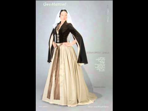 Georgian Woman S Traditional Clothing Youtube