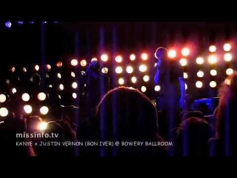 Kanye x Bon Iver's Justin Vernon at Bowery Ballroom: