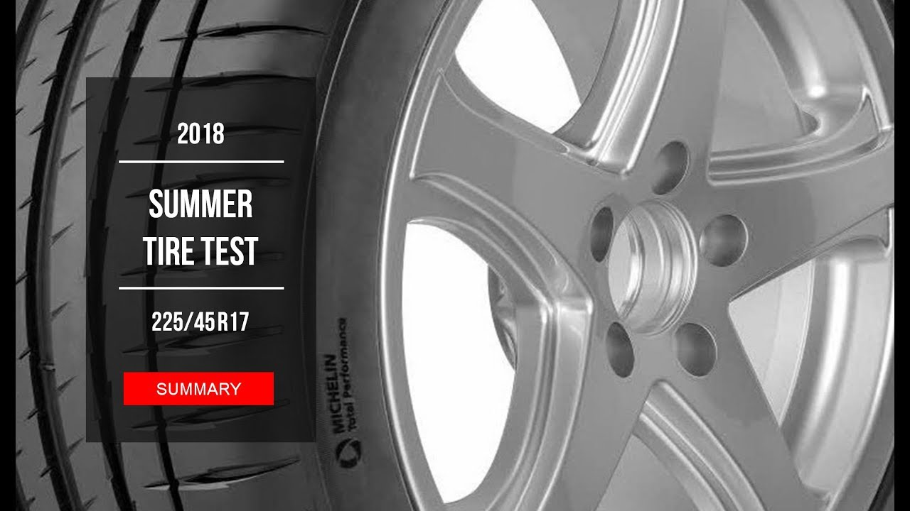 2018 summer tire test results 225 45 r17 youtube. Black Bedroom Furniture Sets. Home Design Ideas