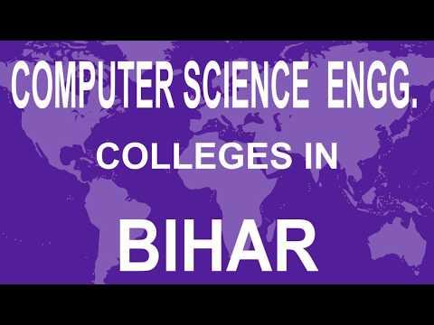 Best Computer Science Engineering Colleges in Bihar