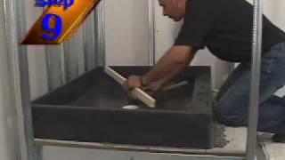 tile redi pan waterproofing question
