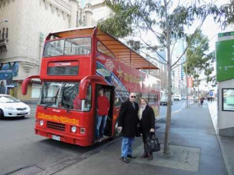 City Tour Melbourne Australia 25 jul 2016