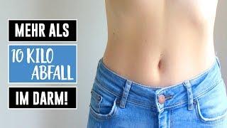 In deinem Darm können sich mehr als 10 Kilo Abfall befinden. So wirst du ihn los! Video