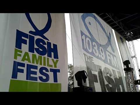 Backstage At Fish Fest 2017