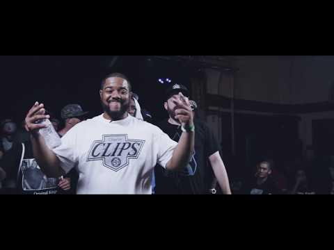 KOTD - Rap Battle - Charlie Clips vs Dirtbag Dan