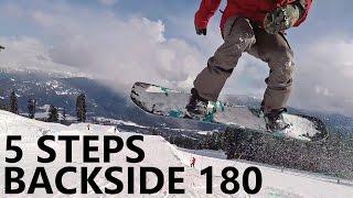 5 Steps to Learning Backside 180