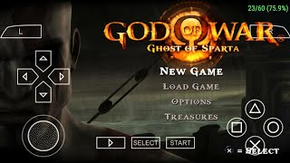 God of war Ghost of Sparta ppsspp setting hindi