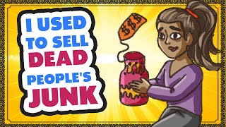 I Used to Sell Dead Peoples Junk animated story