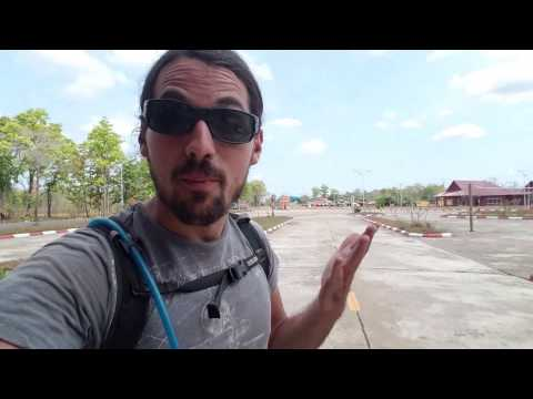 Crossing The Cambodia Border Into Laos By Motorcycle