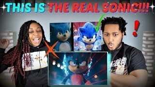 "THIS IS BETTER! | ""Sonic The Hedgehog"" (2020) New Official Trailer REACTION!!"