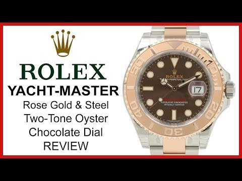 ▶ Rolex Yacht-Master 40, Two-Tone (Rose Gold & Steel), Chocolate Dial, Oyster - REVIEW