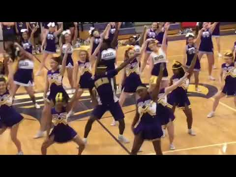 Richardson High School Cheerleaders Senior Pep Rally 2018