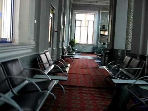 The beautiful Tashkent Airport transit lounge