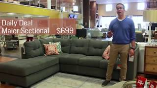 Daily Deals - Maier Sectional $699