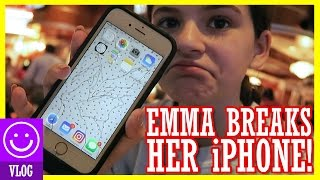 EMMA BREAKS HER iPHONE!   KITTIESMAMA