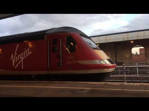 Virgin trains east coast HST departing Lincoln
