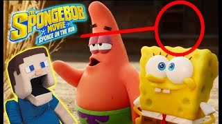 SPONGEBOB Sponge On The RUN Movie Trailer Reaction Review & Easter Eggs!