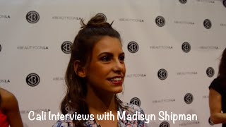 Cali Interviews with Madisyn Shipman from Game Shakers at Beautycon 2016