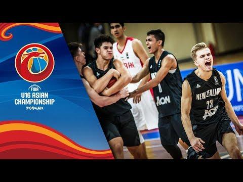 Iran v New Zealand - Full Game - Quarter-Finals - FIBA U16 Asian Championship