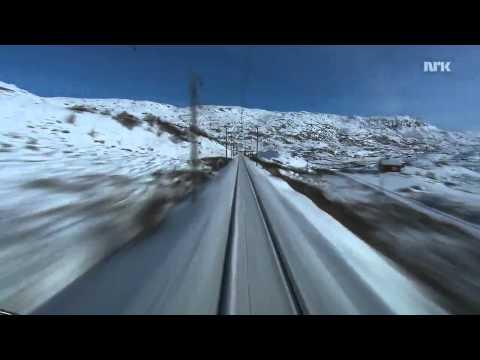 Смотреть Вид из кабины скоростного поезда 720 онлайн