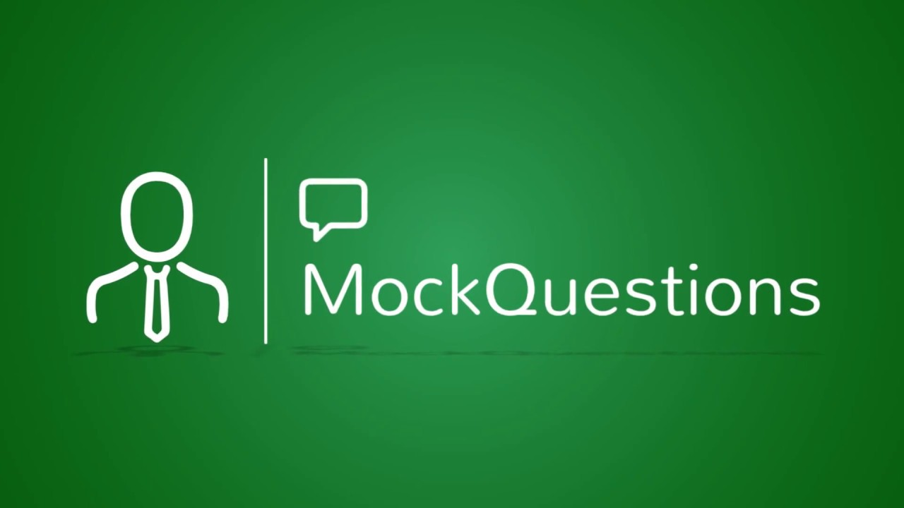 Interview Mock Job Answers And Questions