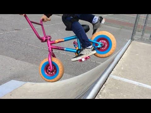 Rocker Mini BMX Tricks