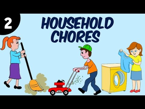 Learn Household Chores For Kids | Part 2 | Learning Videos & Educational Videos For Kids