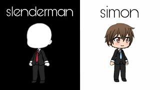 the story of slenderman | gacha life