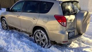 2006 Toyota Rav4 4WD 4 cylinder 2.4L in Snow.