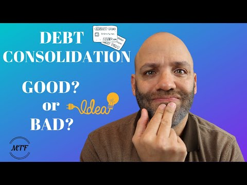 DEBT CONSOLIDATION | Good Idea? | Money Tips