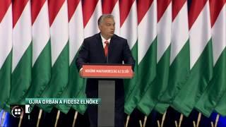 Orbán Viktort újraválasztották a Fidesz elnökévé 19-09-29