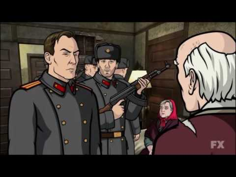 Archer goes to russia real father episode youtube - Archer episodes youtube ...