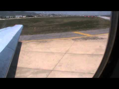 Blue1 Boeing MD-90 (leisure flight) takeoff from Izmir, Turkey to Helsinki