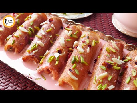 Gulabi Tukra Recipe By Food Fusion (Ramzan Special)