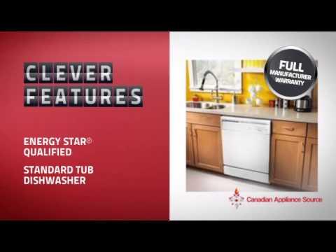 Amana ADB1000AWW Built-In Undercounter Dishwasher