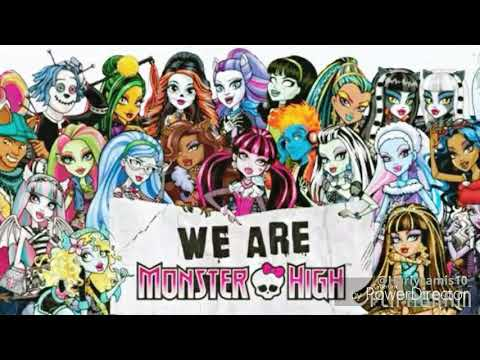 Présentation de ma collection monster high 2018