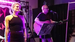 """Kira Wood & Danbert Nobacon (Chumbawamba) """"Bad Dog"""" Live At Creep Records, Philly 6/1/19"""