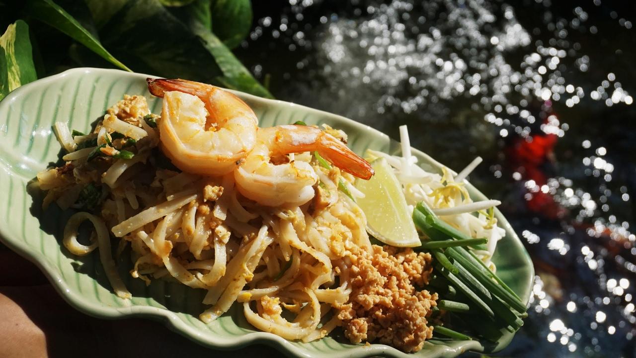 Pad Thai SCHNELL kochen/ Original Pad Thai Rezept von Thailändern!  Superlecker!