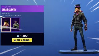 NEW ! ROCK SKINS + HOT STUFF GLIDER | Fortnite ITEM SHOP September 15