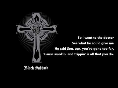 Black Sabbath - Fairies Wear Boots [Lyrics] HQ