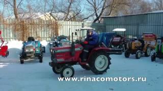 хиномото Е1802 - Видео обзор японского мини трактора. Контрактные запчасти на продажу!