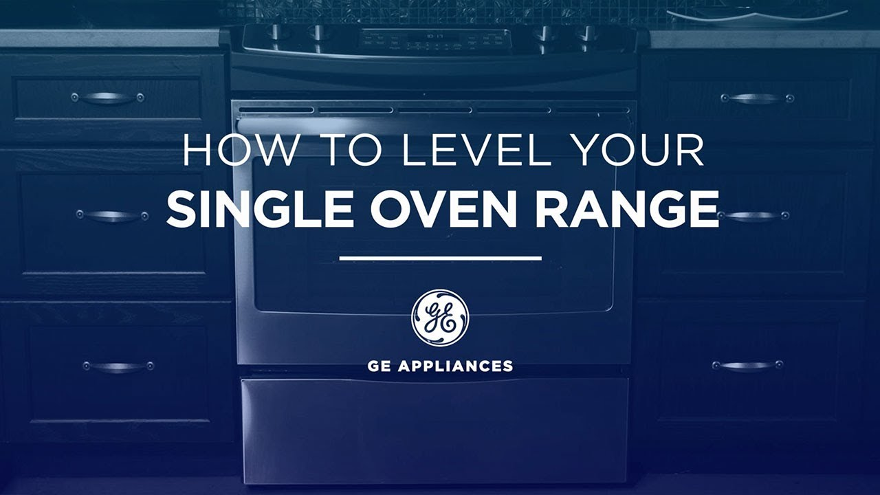 Range Installation and Leveling Tips